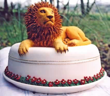 Cake with Lion.